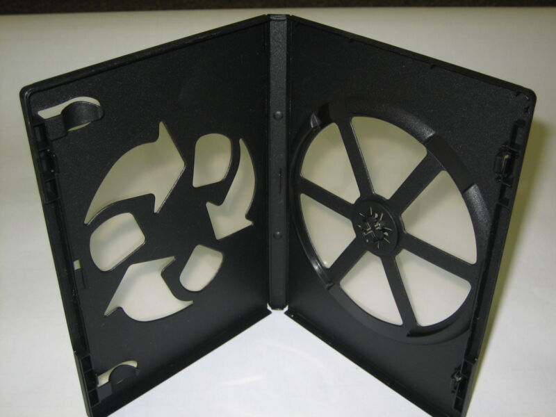 50 14MM BLACK ECO-FRIENDLY SINGLE DVD CASES,PSD12ECO