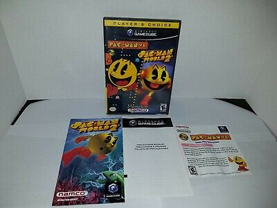 Pac-Man vs. & Pac-Man World 2 (Nintendo GameCube, 2003) Complete Nice Condition!