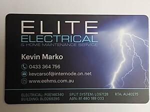 Elite Electrical & Home Maintenance Service Wynn Vale Tea Tree Gully Area Preview