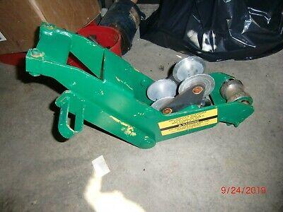 Greenlee 25273 Roller Support Unit 1-12 - 2 Imc 555 Bender For Imc Only