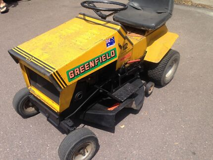 Greenfield ride on mower