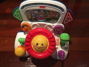 Fisher-Price Laugh & Learn Rumble & Learn Driver Hamersley Stirling Area Preview