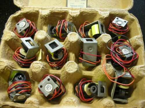 Signalex rotary solenoids for signs etc. 12vdc bistable