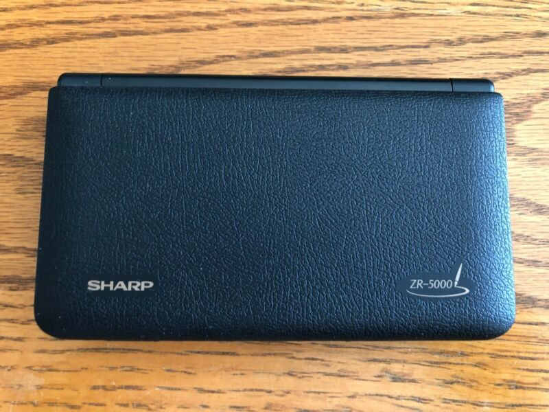 Vintage Sharp Zaurus ZR-5000 PDA - Excellent Condition, Minimal Use