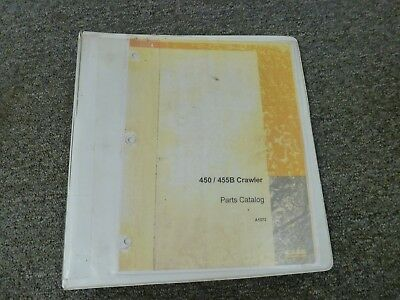 Case Model 450 455b Crawler Tractor Parts Catalog Manual Book A1372