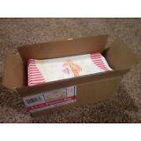 Case of 500 1.5oz Popcorn Bags