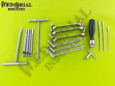 Basic Orthopedic Surgical Instruments Assorted Set Of 16 Pcs Fine Quality
