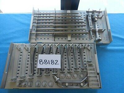 Richards Surgical Orthopedic Hip Instrument Set W Trays