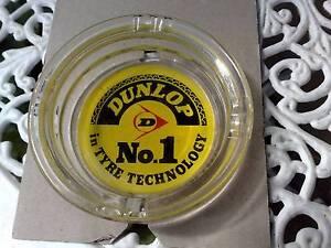 Dunlop Glass Ashtray Narre Warren Casey Area Preview