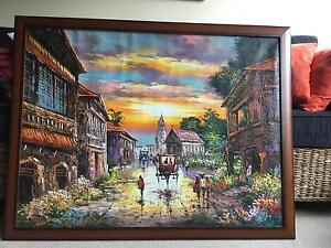 Province in the Phillipines Oil Painting Geelong Geelong City Preview