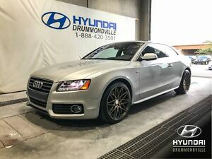 AUDI A5 COUPE PREMIUM S-LINE + TOIT + MAGS + WOW !
