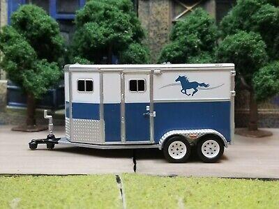 Horse Trailer farm collectible 1:64 Scale diorama model * Very Rare*