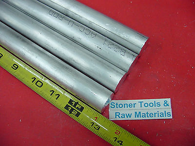 4 Pieces 78 Aluminum 6061 Round Rod 13 Long T6511 Solid New Lathe Bar Stock