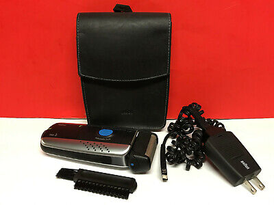 BRAUN 7505 ELECTRIC RECHARGEABLE SHAVER Syncro System MEN'S RAZOR SET Cord Case+ Braun Syncro Shaver System