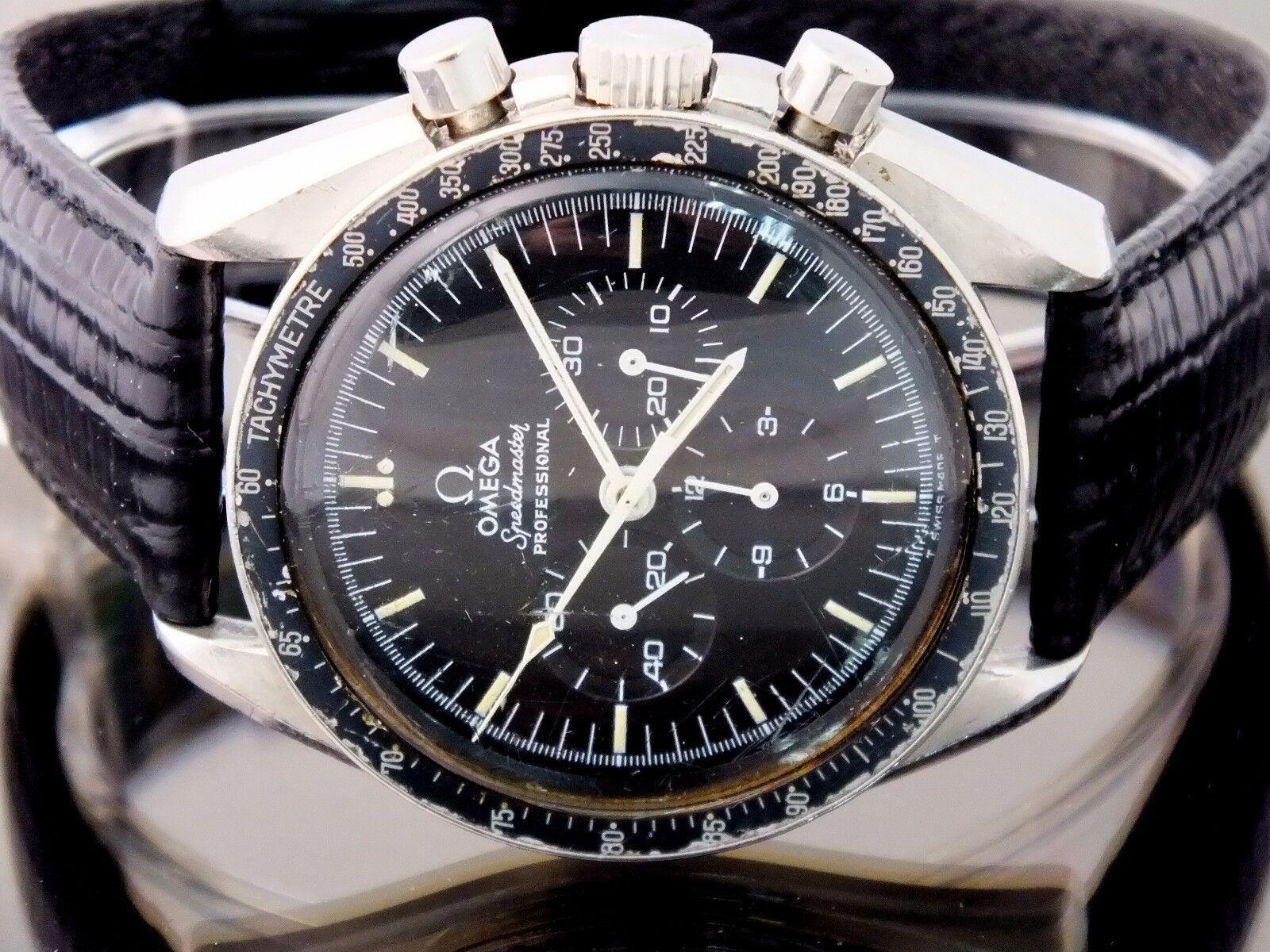 omega watch speedmaster professional nasa qualified no 145027 74 st tachymetre ebay. Black Bedroom Furniture Sets. Home Design Ideas