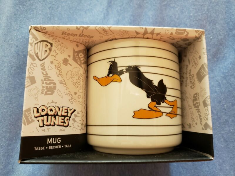 Looney Tunes Daffy Duck Mug Coffee Cup Not A Morning Person- New in Box