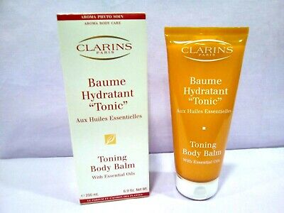 Clarins Toning Body Balm (CLARINS BAUME HYDRATANT TONIC / TONING BODY BALM WITH ESSENTIAL OILS 200 ML. )