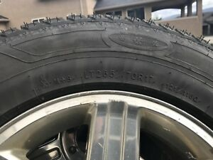 Ram 3500 Rims and Snow Tires