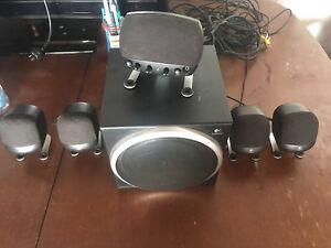 Logitech Z-640 5+1 speakers