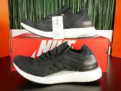 Adidas Ultra Boost X Black/White Womens Running Shoes BB6162 Size 10 for sale  Shipping to India