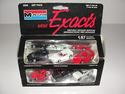 1989 Monogram Mini Exacts Replica Classic Cars Gift Pack 2028 6 -