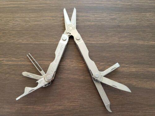 Leatherman Micra keychain multitool scissors with tweezers - good condition!