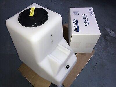Blue-white T15n302x026v01 Diaphragm Chemical Feed Pump 7 Gal Tank 16.3 Gpd 115v