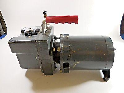 Jb Industries Fast-vac Vacuum Pump Dv-25b Wwestinghouse Ac Motor Ac73
