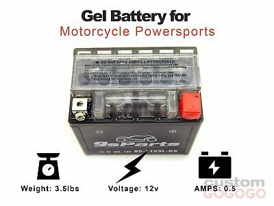 Maintenance Free 12V Gel Battery YTX5L-BS YTZ7S ATV CAN-AM Outlander 300CC 04-05