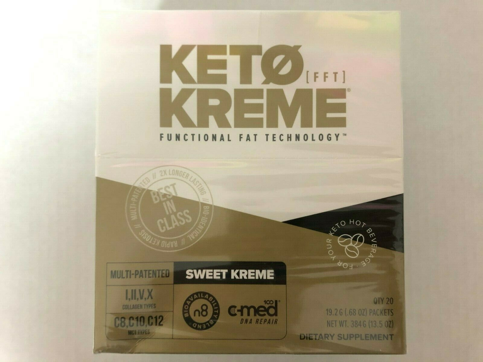 Pruvit Keto Sweet Kreme 5,10 & 20 Packets Flavor Dietary Supplement FreeShipping