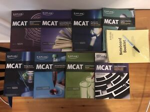 Kaplan MCAT prep books (fourth edition)