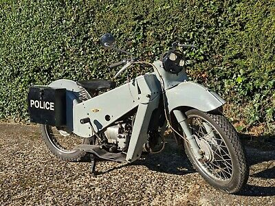 Velocette LE Mk3 ex police motorcycle. Classic. No Reserve