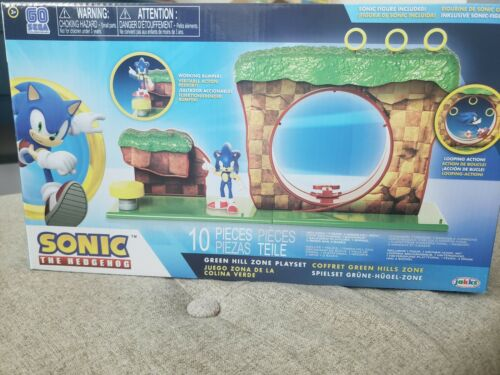 Sonic the Hedgehog Green Hill Zone Playset Jakks Pacific