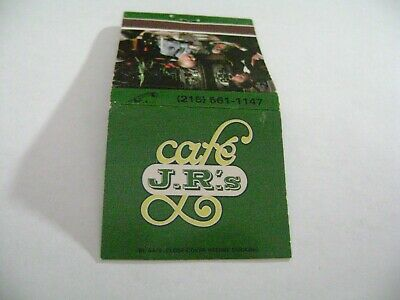 "1- Match Book, ""J.R.'S CAFE"", Philadelphia, PA., complete. A+++"