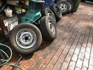 Holden / Toyota Rims with the below Tyres Blaxland Blue Mountains Preview