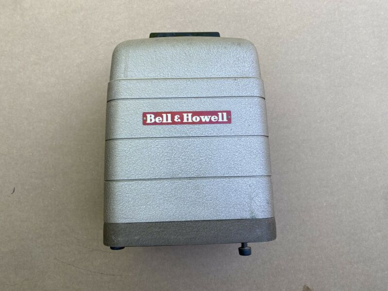 Bell And Howell 8mm Film Movie Projector Model 254 R 500 Watt Max