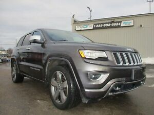 2015 Jeep Grand Cherokee Overland DIESEL, LEATHER, PANOROOF,...