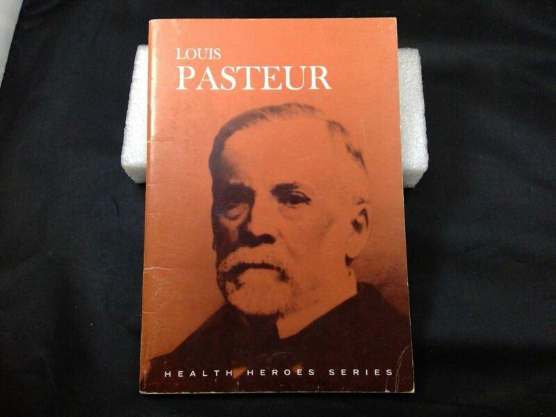 1963 Booklet Louis Pasture Health Heroes Series Metropolitan Life - Germ Theory