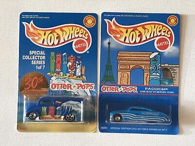 Hot Wheels Dairy Delivery Passion Otter Pops Limited Edition Blue Roof Vari. Lot