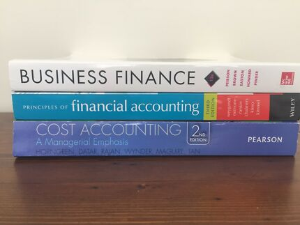 QUT 2018 Accountancy Textbooks - BRAND NEW, never opened or used