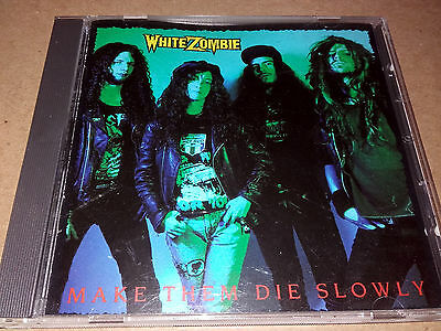 WHITE ZOMBIE - Make Them Die Slowly (Caroline Records, 1989 - first press) for sale  Shipping to South Africa