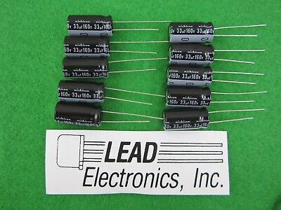 1-3300uf 3300ufd//25V Volt Hi Temp Radial Nichicon Electrolytic Capacitor