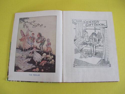 Childrens book Illustrator Rene Cloke 5 Fairy Prints Our Kiddies Gift Book