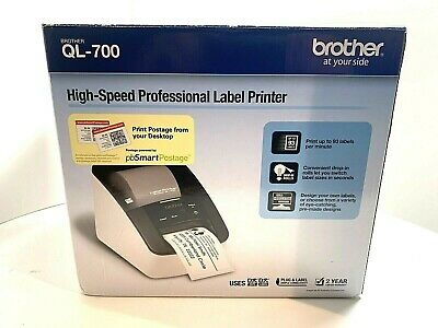 Brother Ql700 High Speed Professional Label Thermal Printer