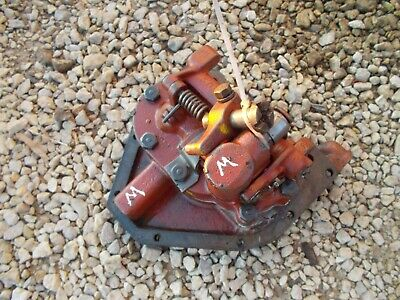 Farmall M Early Sm Tractor Ih Hydraulic Belly Pump Bottom Cover Plate