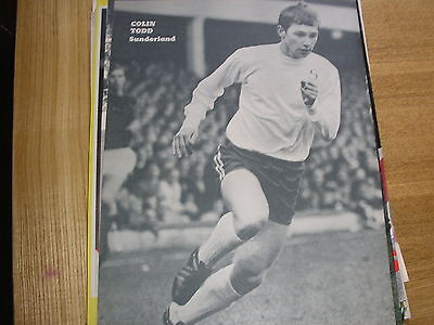 Sunderland Colin Todd B&W  A4 different