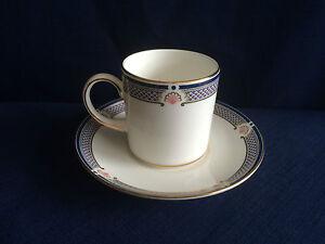 Wedgwood Waverley coffee can & saucer