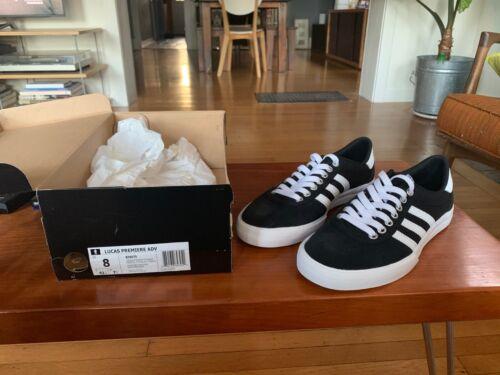 Adidas Men's Lucas Premiere Adv Cblack/Ftwwht/Ftwwht Skate Shoe 13 Men US B39575