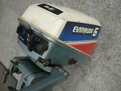 Evinrude 6 PS 2-Takter mit 2 Zylindern