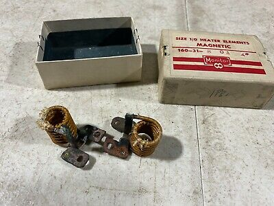 Lot Of Two Monitor Products Size 10 Heater Elements Magnetic 160-31-8.0a Nos